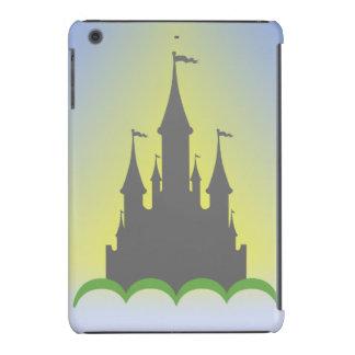 Château rêveur de jour dans le ciel ensoleillé de coques iPad mini retina