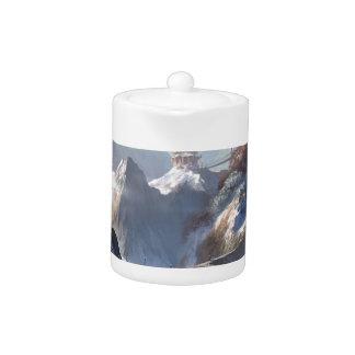 Château sur la montagne