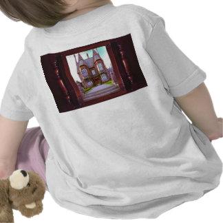 Château vintage dans son architecture t-shirt