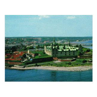 Château vintage du Danemark Elseneur Kronburg de Cartes Postales