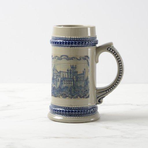 Château vintage tasse à café