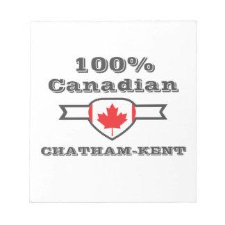 Chatham-Kent 100% Bloc-note