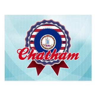 Chatham, VA Carte Postale