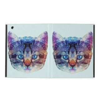 chaton abstrait coque iPad