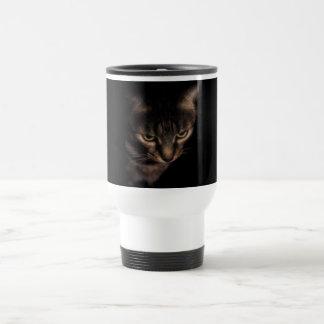 Chaton bonjour mug de voyage