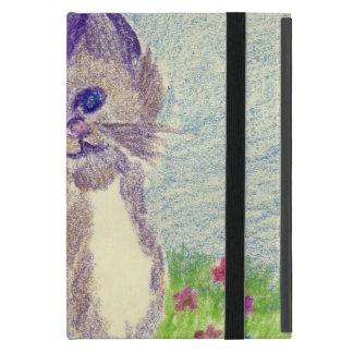 chaton dans le crayon étui iPad mini