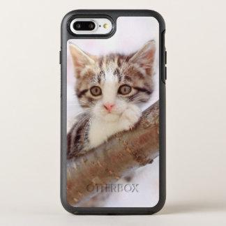 Chaton dans un arbre coque otterbox symmetry pour iPhone 7 plus