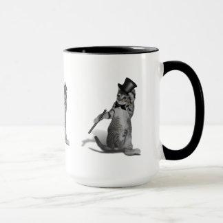 Chaton de claquettes mugs