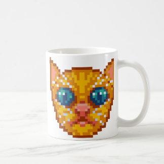 Chaton de Pixel-Art Mug