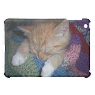 Chaton de sommeil coque iPad mini