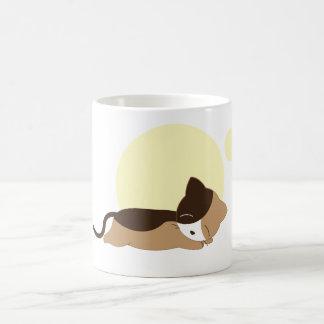Chaton de sommeil mug