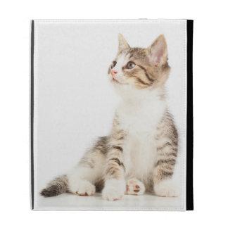 Chaton Étui iPad Folio