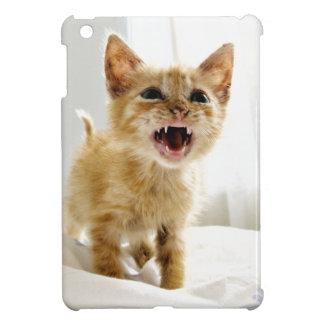 Chaton fâché coque pour iPad mini