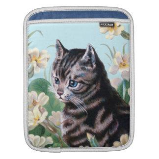 Chaton mignon - art vintage de chat poches iPad