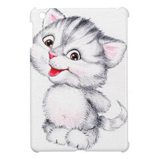 Chaton mignon coque pour iPad mini