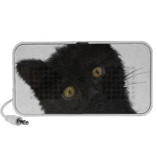 Chaton noir de Luna Bella Haut-parleurs Mobiles