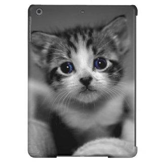 Chaton tigré doux coque iPad air
