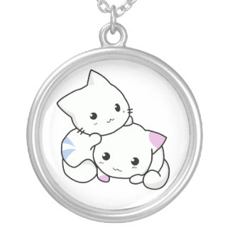 Chatons adorables collier