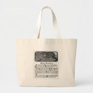 Chatons avec l'illustration d'histoire de scarabée sacs