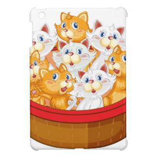 chatons coques pour iPad mini