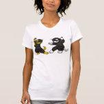 Chatons de Ninja T-shirts