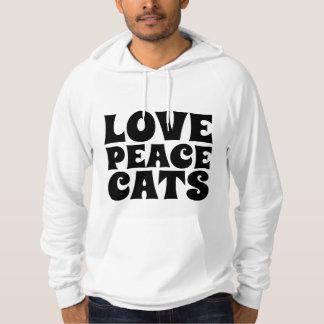 CHATS d'AMOUR de PAIX, T-shirts d'amoureux des