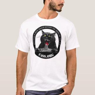 Chats de C4SS Lazer pour des chemises T-shirt