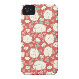 Chats de Kawaii Coques Case-Mate iPhone 4