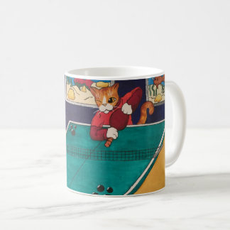 Chats de ping-pong mug
