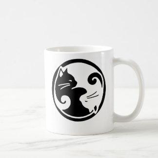 Chats de Yin Yang Mug