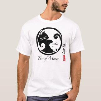 Chats de Yin Yang | Tao de la pièce en t des T-shirt