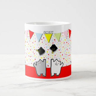 Chats d'obtention du diplôme mug