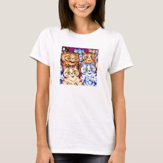 Chats frais par Louis Wain T-shirt