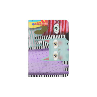 Chats par Rupydetequila Protège-passeport