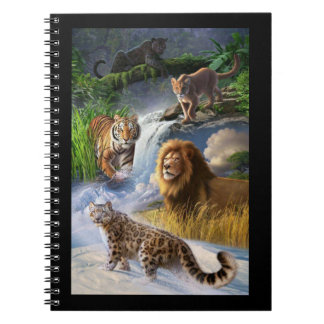 Chats sauvages carnet