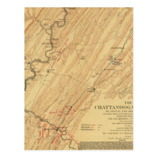 Chattanooga, Tennessee Carte Postale