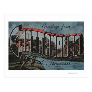 Chattanooga, Tennessee (scène de rivière) Carte Postale