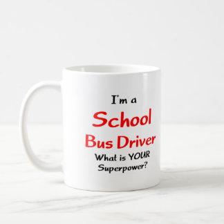 Chauffeur d'autobus scolaire mug