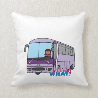 Chauffeur de bus de femme oreiller