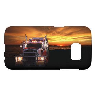 Chauffeur de camion coque samsung galaxy s7