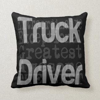 Chauffeur de camion Extraordinaire Coussin