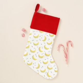 Chaussette De Noël Bananes géométriques