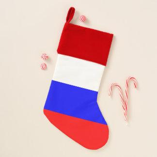 Chaussette De Noël Bas de Noël avec le drapeau de la Russie