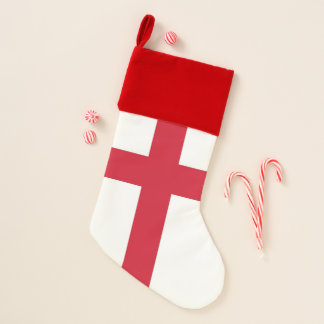 Chaussette De Noël Bas de Noël avec le drapeau de l'Angleterre