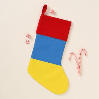 Chaussette De Noël Bas de Noël avec le drapeau de l'Ukraine