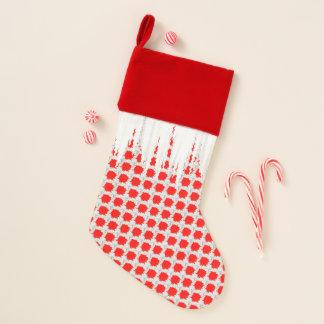 Chaussette De Noël Bas de Noël rouge et blanc
