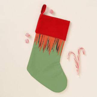 Chaussette De Noël Bas rouge vert de Noël