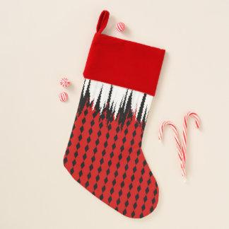 Chaussette De Noël Bas rouges noirs blancs de Noël