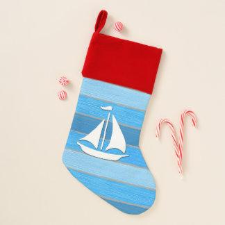 Chaussette De Noël Conception orientée nautique