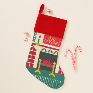 Chaussette De Noël Copie de crochet de cheminée de Noel de bougie de